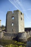 Raglan Castle Great Tower Stock Images