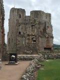 Raglan Castle. Medieval Raglan Castle in Wales Royalty Free Stock Photos