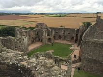 Raglan Castle Stock Image