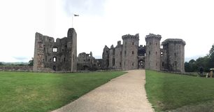 Raglan Castle Royalty Free Stock Images