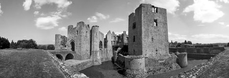 Raglan Castle, South Wales Stock Photo