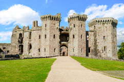 Raglan Castle – Wales, United Kingdom Stock Photography