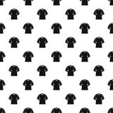 Raglan tshirt pattern vector. Raglan tshirt pattern seamless in simple style vector illustration Royalty Free Stock Images