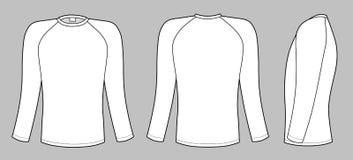 raglanowy koszulowy rękaw t ilustracja wektor