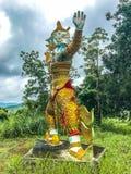 Ragman-Statue, der Charakter in der thailändischen Literatur, das schönste und das grausam lizenzfreie stockfotos
