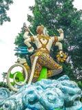 Ragman-Statue, der Charakter in der thailändischen Literatur, das schönste und das grausam stockfoto