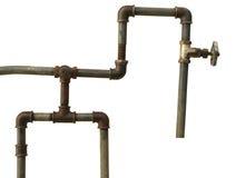 Ragment di vecchio condotto dell'acqua Immagine Stock Libera da Diritti