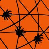 Ragni di Halloween illustrazione vettoriale