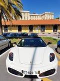 Ragno bianco F430 di Ferrari F430 Immagini Stock Libere da Diritti