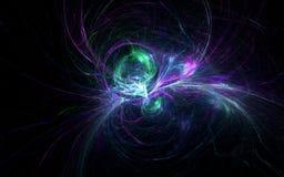 Ragno cosmico Fotografie Stock Libere da Diritti