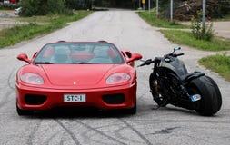 Ragno del Ferrari 360 immagini stock