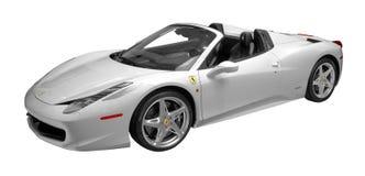 Ragno del Ferrari 458 immagini stock