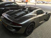 Ragno di Porsche 918 immagini stock