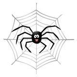 Ragno e spiderweb Immagine Stock