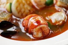 Ragoût de fruits de mer Photos stock