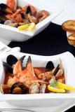 Ragoût de fruits de mer avec la griffe de crabe Photo stock
