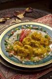 Ragoût de poulet indien image libre de droits