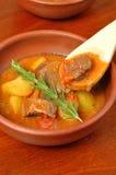 Ragoût de viande avec des pommes de terre Photo stock