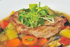 Ragoût rôti de viande Photos stock