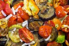 Ragoût dans une casserole de légumes Image libre de droits