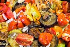 Ragoût dans une casserole de légumes Photos stock