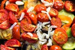 Ragoût dans une casserole de légumes Photos libres de droits