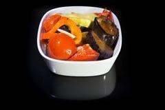 Ragoût dans une casserole de légumes Photo libre de droits