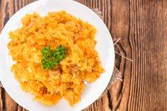 Ragoût de carotte Images stock