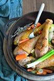 Ragoût de poulet Photographie stock