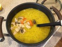 Ragoût de poulet crémeux Photo stock