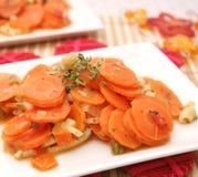 Ragoût frais de carottes Photo libre de droits