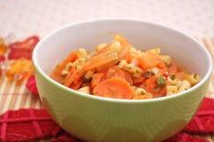 Ragoût frais de carottes Photos libres de droits
