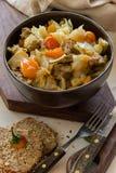 Ragoût végétal avec de la viande et la pomme de terre Photographie stock
