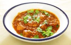 Ragoût de tagine de poulet et de tomate Images stock
