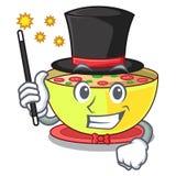 Ragout de maïs de magicien dans un plat de bande dessinée illustration libre de droits