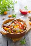 Ragout od indyka i pomidoru Fotografia Royalty Free