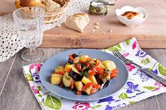 Ragout of vegetables Royalty Free Stock Image
