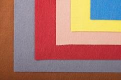 Rags de uma tela para o needlework Imagens de Stock Royalty Free