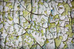 Rags paint on old wall - background Stock Images