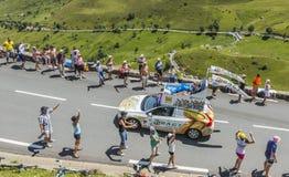 RAGT Semences Caravan - Tour de France 2014 Royalty Free Stock Photo