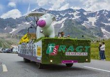 RAGT Semences Vehicle - Tour de France 2014 Royalty Free Stock Photos