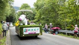 RAGT Semences Vehicle - Tour de France 2014 Stock Image