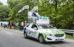 RAGT Semences Vehicle - Tour de France 2014 Royalty Free Stock Images