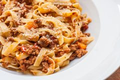 Ragu alla bolognese Stock Photography