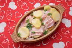 Ragu av potatisar Fotografering för Bildbyråer