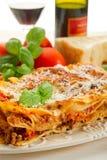 ragu lasagne Стоковые Фотографии RF
