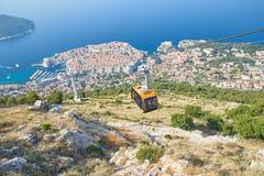 Ragusa da Kriz, Croazia Fotografie Stock Libere da Diritti