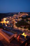 Ragusa at dusk Stock Image