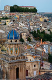 Ragusa at dusk Royalty Free Stock Image