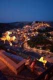 Ragusa en la oscuridad Imagen de archivo